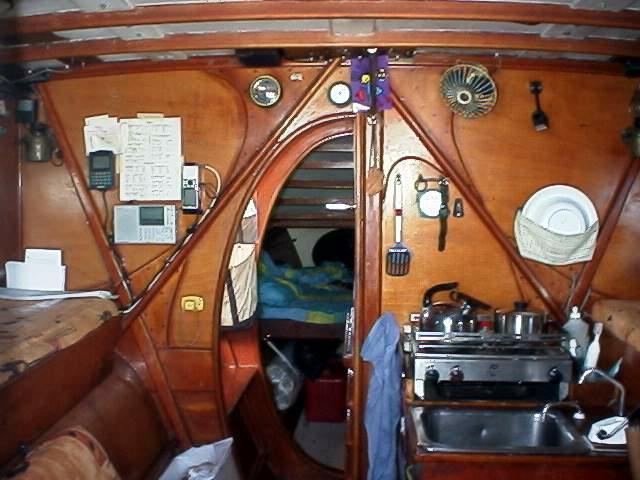 Dailing Living Aboard Trimaran Naga
